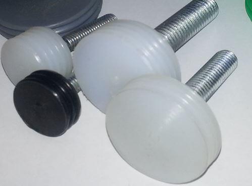 Болты с выполненной футеровкой головок композитным материалом tekrone