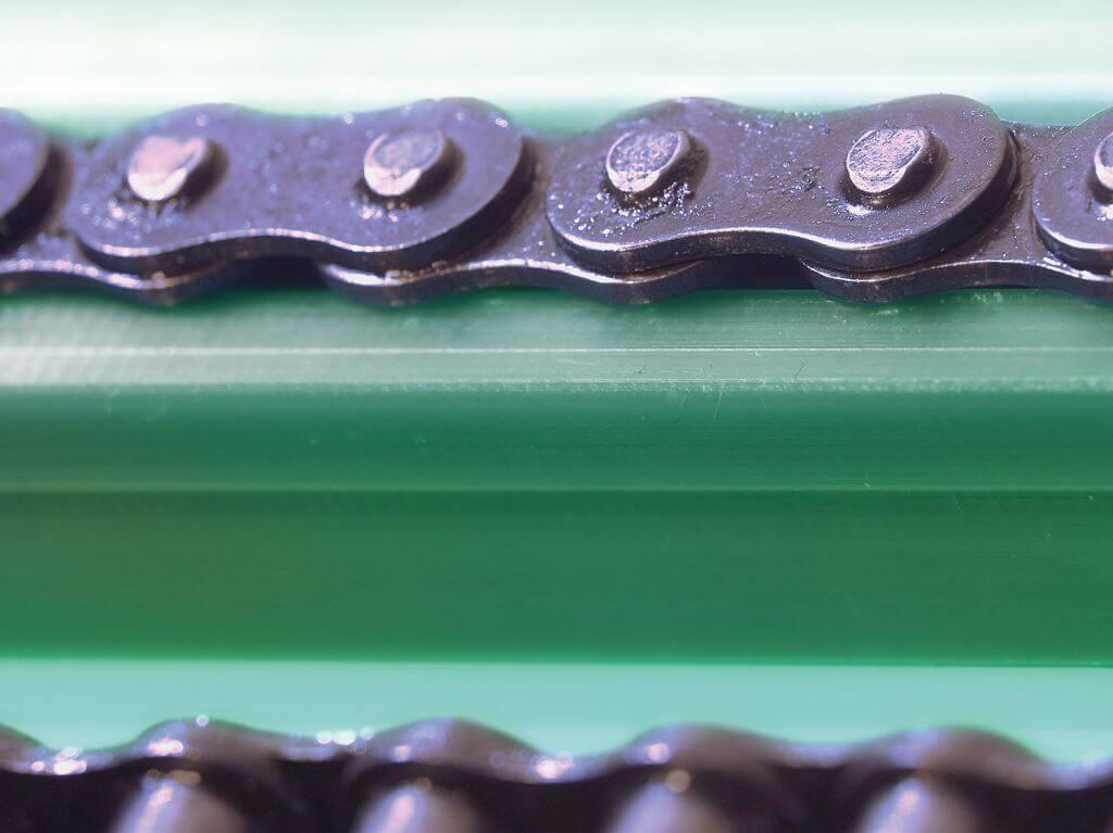 фото - направляющие для цепей из композитного материала